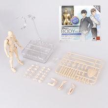 Anime Figma Movable Arquétipo Ele Ela Ferrite Feminino Corpo Corpo Chan Kun Ação PVC Modelo Figura Boneca Brinquedos para Colecionáveis(China)