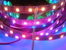 4m WS2811 LED digital strip,60leds/m 6WS2811 built-in tthe 5050 smd rgb led chip.non-waterproof,DC5V input - Digital Pixels LEDs Store store