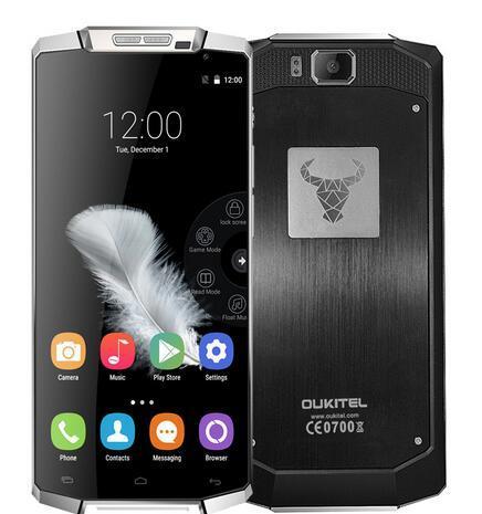 """В наличии Oukitel K10000 4 г LTE смартфон MTK6735 четырехъядерных процессоров 5.5 """" HD 1280 * 720 2 ГБ 16 ГБ Android 5.1 13MP две сим-gps сотовый телефон"""