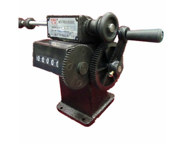 2014 high quality free shippingby DHL NZ-1 Manual hand dual-purpose Coil counting and winding machine(China (Mainland))