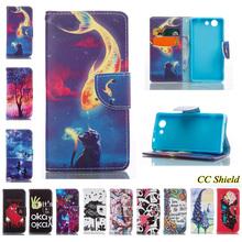 Buy Magnetic Flip Case Sony Xperia Z 3 Compact Z3 mini M55W D5833 D5803 wallet card slot phone case Sony Xperia Z3mini Bag for $4.69 in AliExpress store