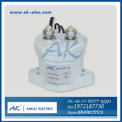 main circuit 150A 500V coil voltage 12V 24V 36V 48V 60V dc protective relay electrical contactor winch,motor,forklift