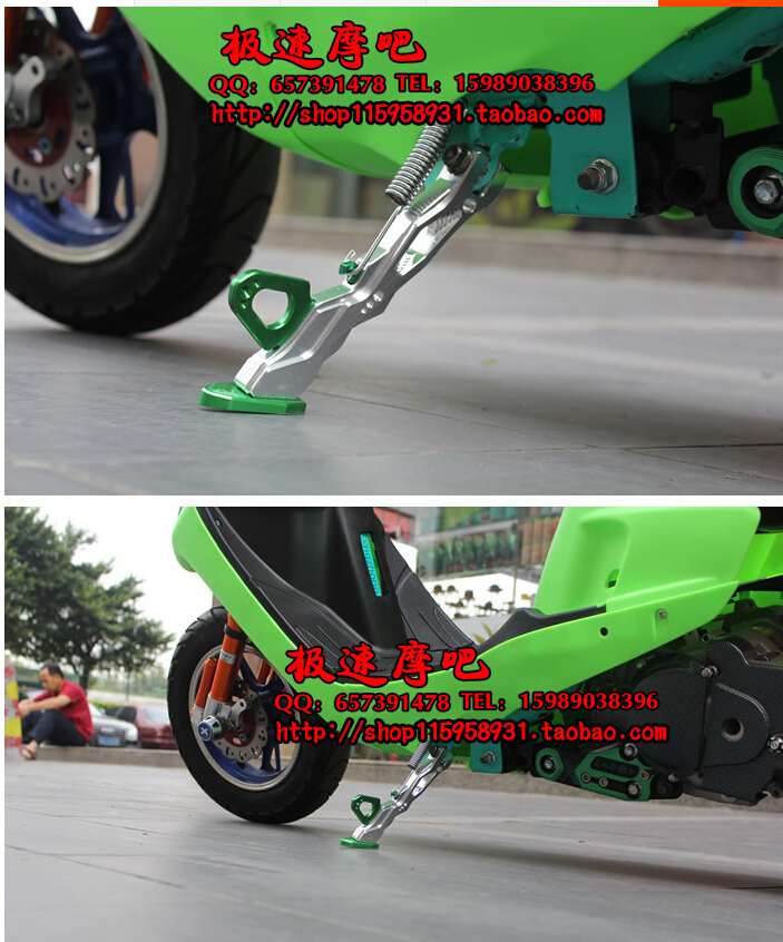 aluminium alloy 20cm caballete motocicleta motorcycle lift motorcycle stand modify  Inclined support free shipping<br><br>Aliexpress