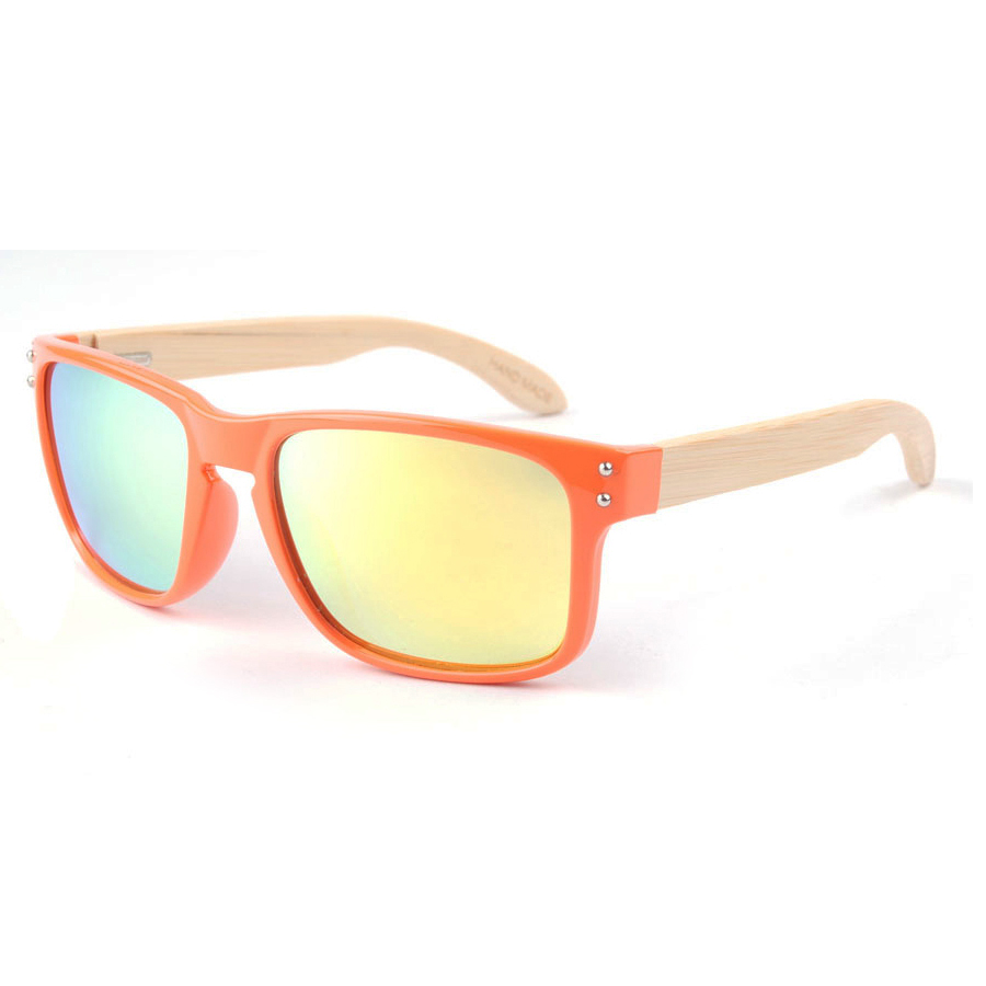 Fashion trend bamboo sunglasses polarized men outdoor sport spring hinges gafas de sol 7021(China (Mainland))