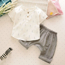 Buy High Children Boys Clothes Kids Short T-shirt Pants Cotton Comfortable Cartoon Boys summer Clothing Set for $6.78 in AliExpress store