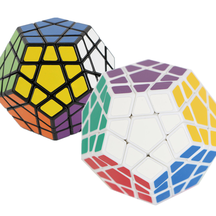 2015 Most brain New ShengShou Puzzle cube Action figures Magic speed Cube Megaminx Plastic Cubo Training Magnetic Ball(China (Mainland))