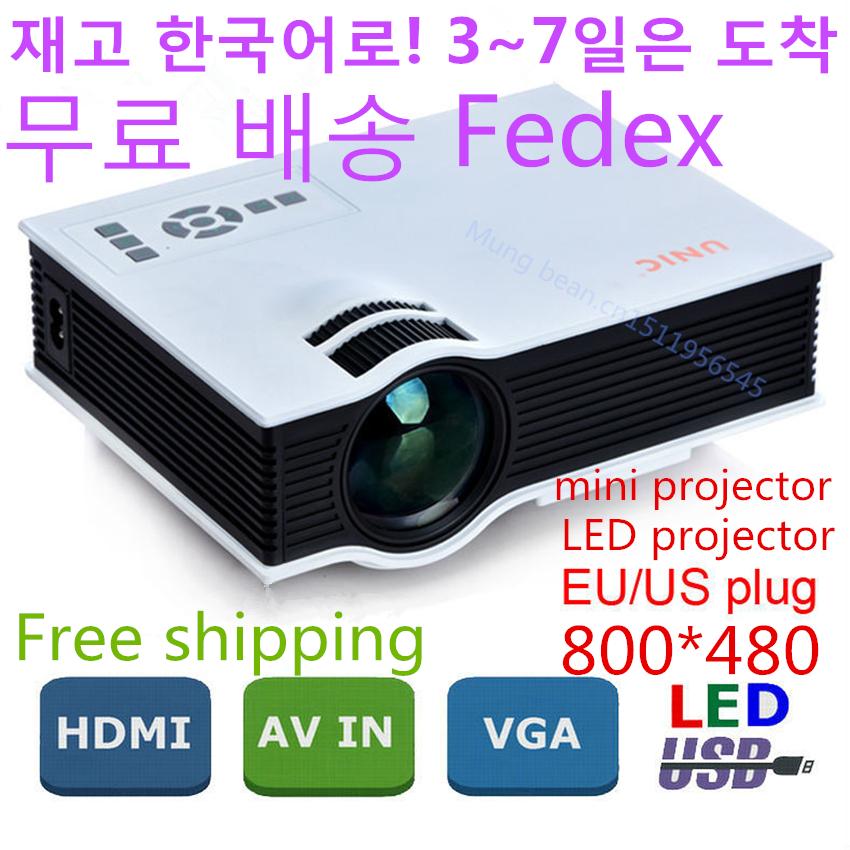 Проектор UNIC UC40 Proyector HDMI AV USB 1080P projetor PS3 Xbox tv