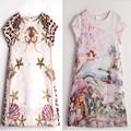Baby Girl Dress Princess Costume 2017 New Brand Kids Summer Clothes Girls Dresses Leopard Print Children