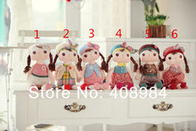 Metoo rabbit angela girl plush toy doll placarders doll child gift soft toys  40cm  many type(China (Mainland))