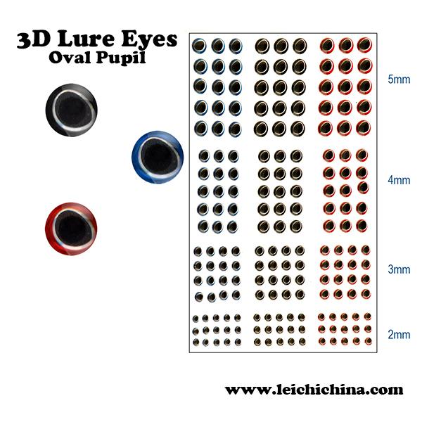 915 Pieces 4 Sizes Fly Tying 3 D Fish Eyes Lure Making Fishing Lure Eyes(China (Mainland))