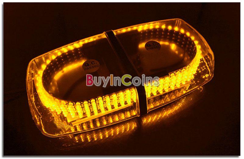 240 LED Vehicle Car Roof Top Emergency Hazard Warning Strobe Light Lamp Amber US AS #50137(China (Mainland))