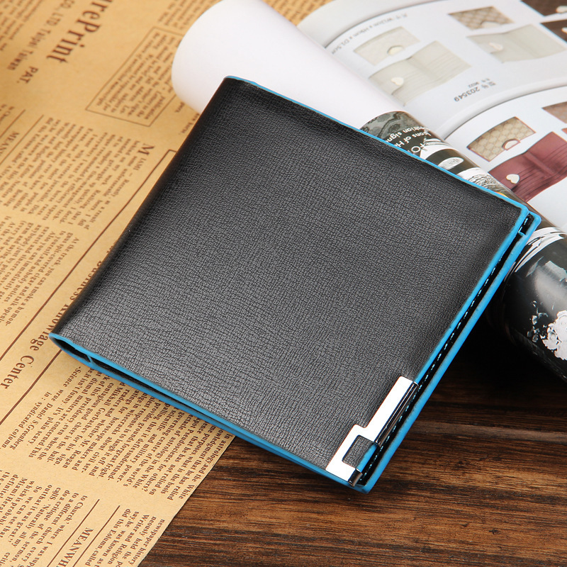 Free shipping! High quality Mens Fashion vintage genuine leather short men wallets 5 colors male wallets man purse<br><br>Aliexpress