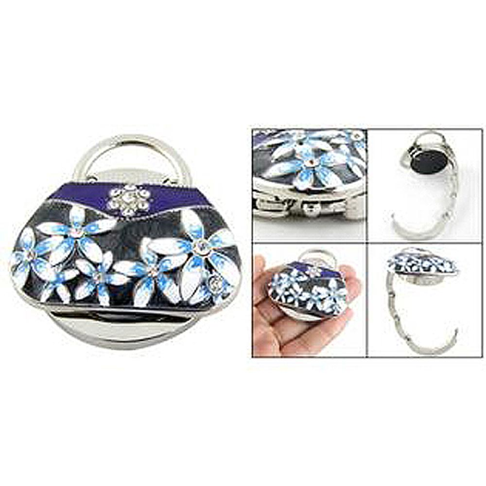 USA Stock! Round Base RhInestone Handbag Purse Hanger(China (Mainland))