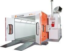 Zonda paint booth spray booth exported to Indonecia(China (Mainland))