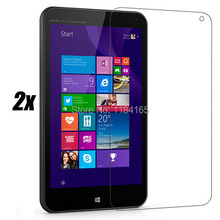 2pcs/Lot Front Glossy LCD Screen Guard Protectors for HP Stream 7 / (7.0) Tablet PC Film with Package(China (Mainland))