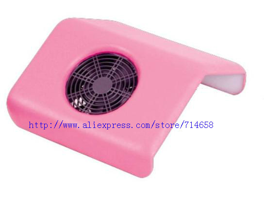 wholesale nail art beauty equipment 25W BIG SIZE Electric Nail dust collector 110-220V 4 colors available 6pcs/lot free shipping