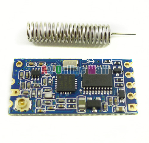 HC-12 SI4463 Wireless Microcontroller Serial Port Module 433 Long Distance 1000M(China (Mainland))