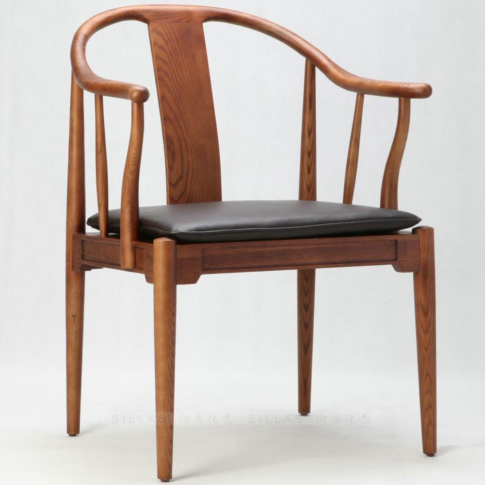 Danish designer wood armchair scandinavian armchair new chinese chinese ming style chair modern - Scandinavian chair ...