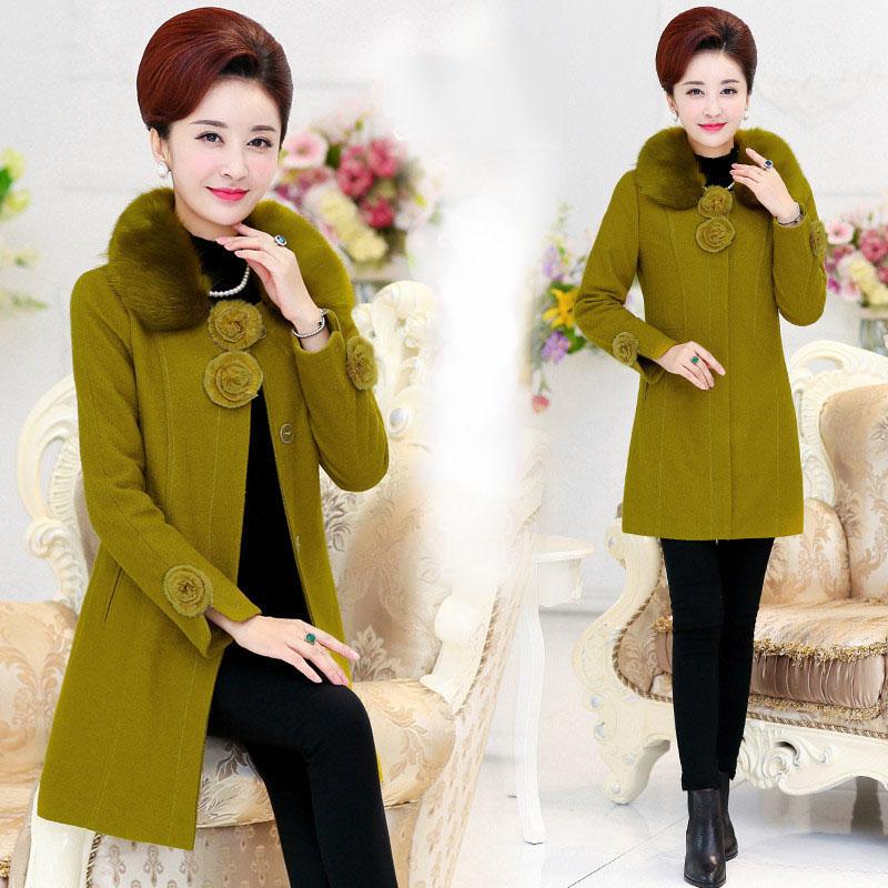 Cashmere overcoat female medium-long woolen outerwear 2015 womens slimОдежда и ак�е��уары<br><br><br>Aliexpress