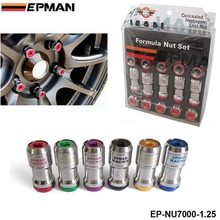 EPMAN - AUTHENTIC EPMAN ACORN RIM Racing Lug Wheel Nuts Screw 20 X 1.25 20PCS CAR For Toyota EP-NU7000-1.25(China (Mainland))