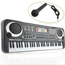 Black 61 Keys Music Electronic Keyboard Key Board Kids Gift Electric Piano Organ(China (Mainland))
