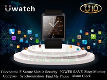 Bluetooth Smart Watch U10 WristWatch U Smartwatch for iPhone 6 5 5S 4 4S Samsung S5 S4 Note 4 HTC Android Phone Smartphones 2014