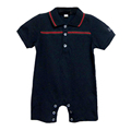 Hot sale 2 pcs 216 Summer France Newborn baby rompers set fashion baby boy Romper and