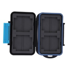 Memory Card Case Holder for 8 x SD SDHC Cards MC-SD8 Waterproof Anti-shock Drop Shipping Wholesale(China (Mainland))