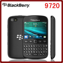 Unlocked original blackberry 9720 mobile phone full keyboard support GPS WiFi 5 mp pixel Capacitive Screen one year warranty(China (Mainland))