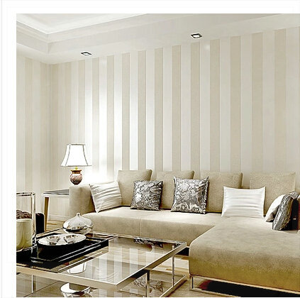 1000 images about casa san martino on pinterest for Striped wallpaper bedroom designs