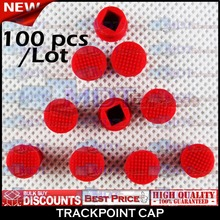 New! 100pcs/lot Trackpoint Trackball Track Point Ball Cap Red Soft Dome for IBM Lenovo ThinkPad Keyboard Mouse(China (Mainland))
