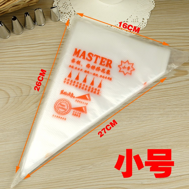 Cake Decorating With Ziploc Bag : 100pcs /Pack Plastic Disposable Icing Piping Pastry Bags ...