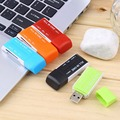 New hot selling All in 1 USB 2 0 Multi Memory Card Reader Adapter Connector For