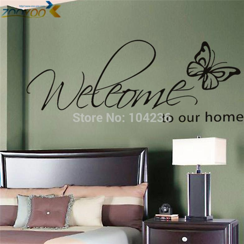 Quote Wall Decals For Living Room : Pics for gt wall decals quotes living room