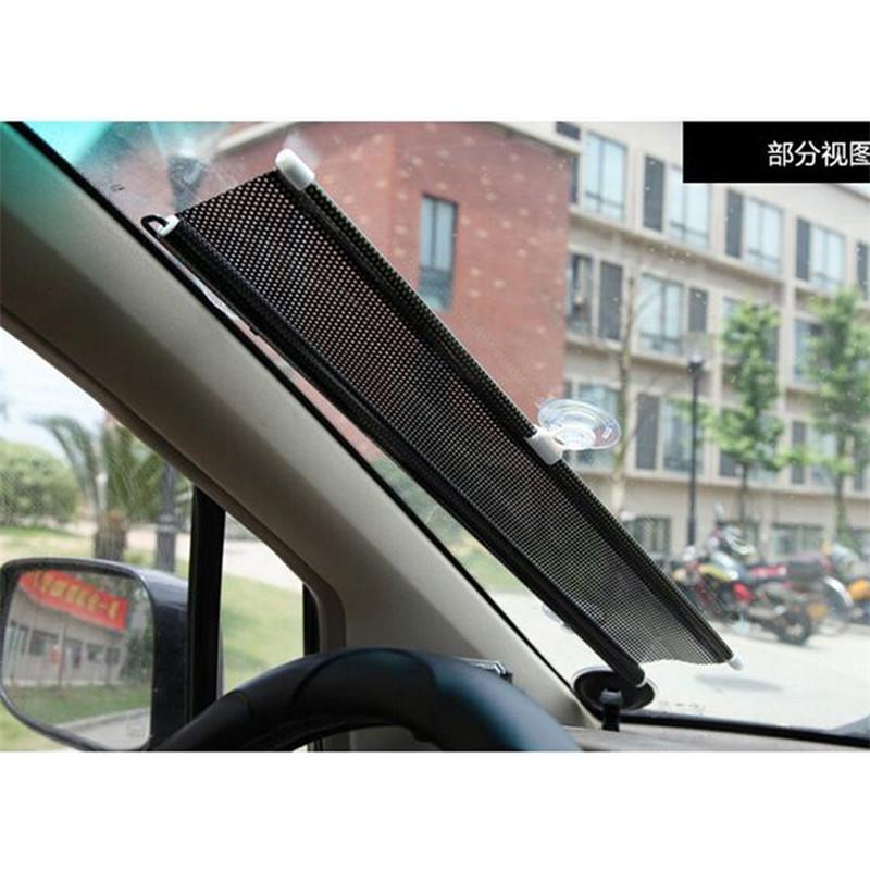 New car sunshade 58x125cm Window Screen Foldable Former Block Retractable Protector window tint for universal car(China (Mainland))