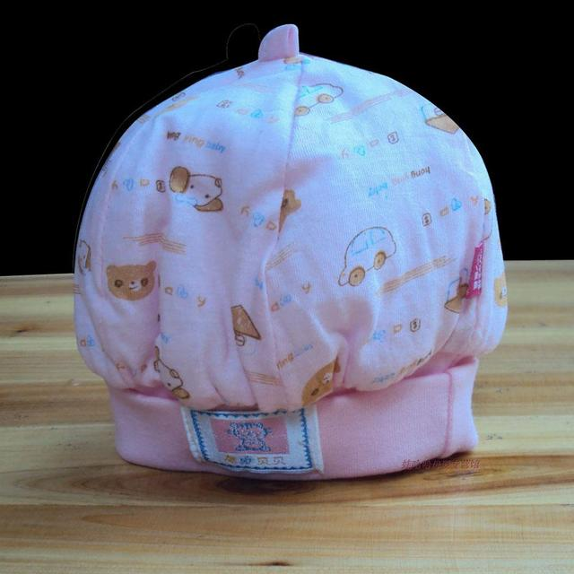 Baby products 100% cotton baby tire cap plus cotton thickening baby autumn and winter hat infant winter