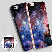 Buy Bright Star Phone Ring Holder Soft TPU Silicone Case Cover iPhone 4 4S 5C 5 SE 5S 6 6S 7 Plus for $2.24 in AliExpress store