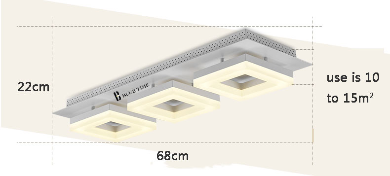 5bf6d99524fc Modern LED Ceiling Lights For Hallway Balcony Corridor Lamp Bedroom Dining  room Luminaria Ceiling Lamp Acrylic Lamparas de techo - us20