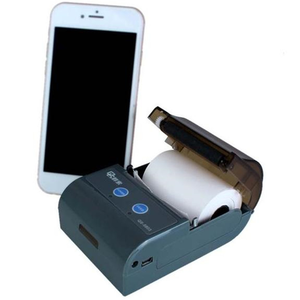 Mini Barcode Printer & Portable Label bluetooth mobile ...