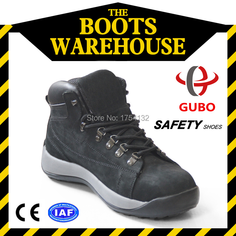 2015 New Mens Steel Boots High Quality Anti-Smashing Nubuck Leather Safety Shoes Caterpillar Mens Steel Toe Boots(China (Mainland))