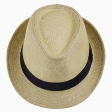 2016 Wide Brim Sun Hats for Women Men Jazz Caps Panama Fedoras Unisex Top Beach Visor Hat Straw Cap Brief Solid Free Shipping(China (Mainland))