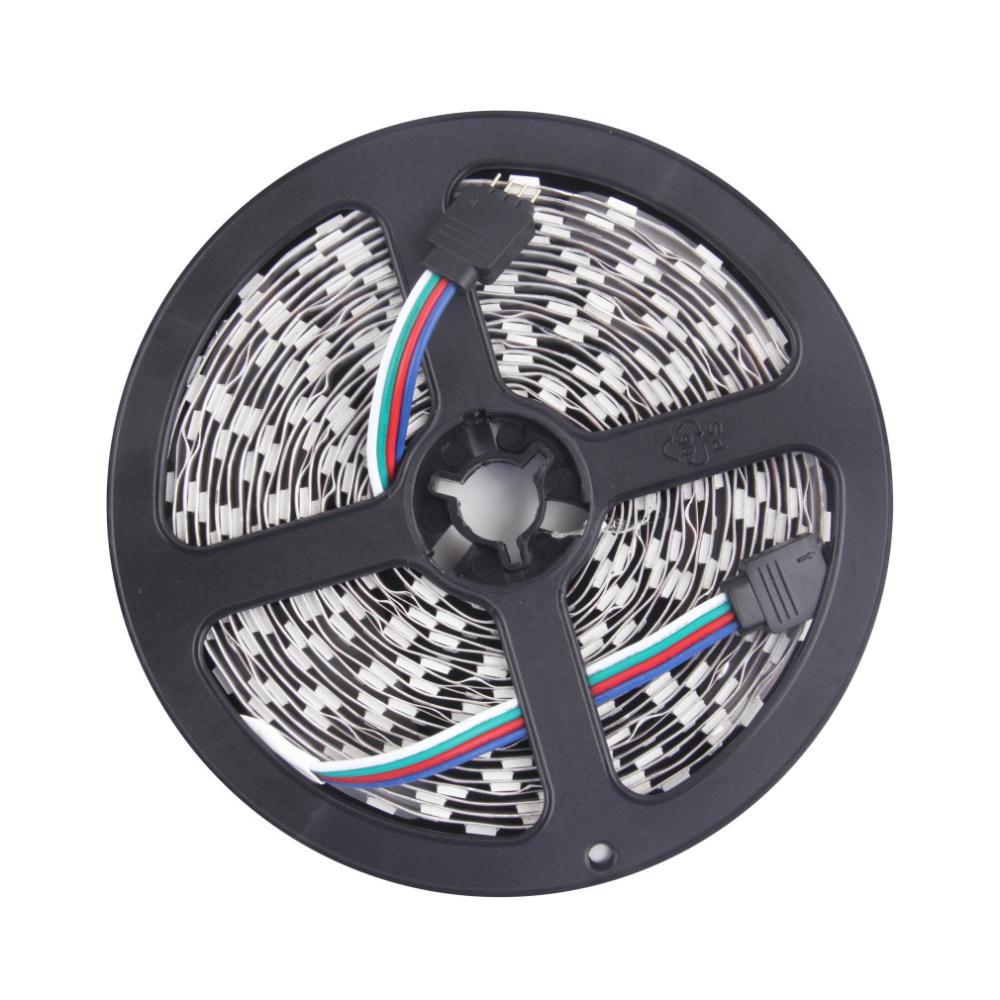 Гаджет  high quality 5050 RGB LED Strip 5M 300 Led SMD 44 Keys IR Remote Controller 12V 5A Power Adapter Flexible Light Free Shipping None Свет и освещение
