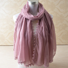 Buy 2016,cotton lace scarf,plain viscose hijab,Muslim hijab,cotton shawl,cape,shawls scarves,Muslim muffler,wrap cj for $45.60 in AliExpress store