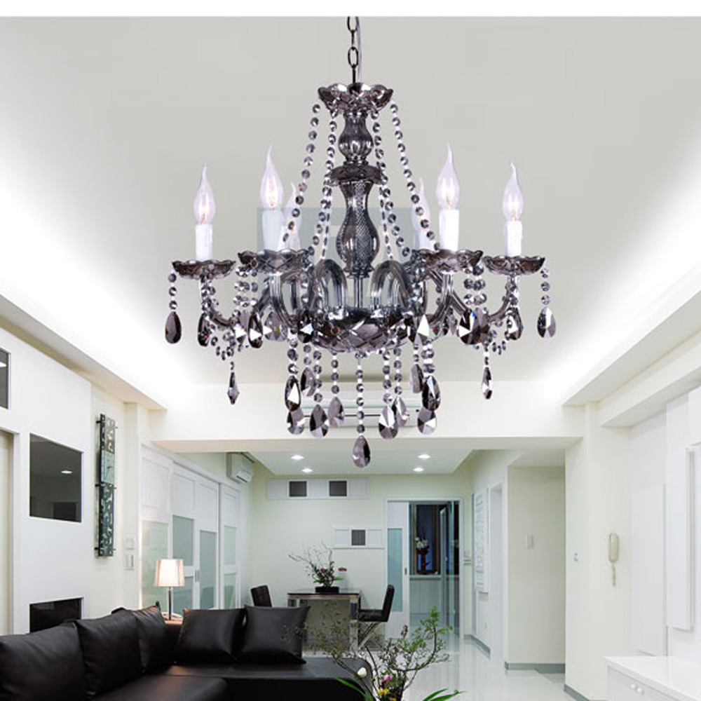 Free Shipping European 8 Lights Murano Glass Candle Chandelier Lamp Fixture for Bedroom Living Room Dining Room(China (Mainland))