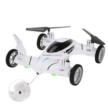 SY X25 2.4G RC Quadcopter Land / Sky 2 in 1 UFO drone with 2.0MP Camera rc helicopter Professional Drones Remote Control Toys