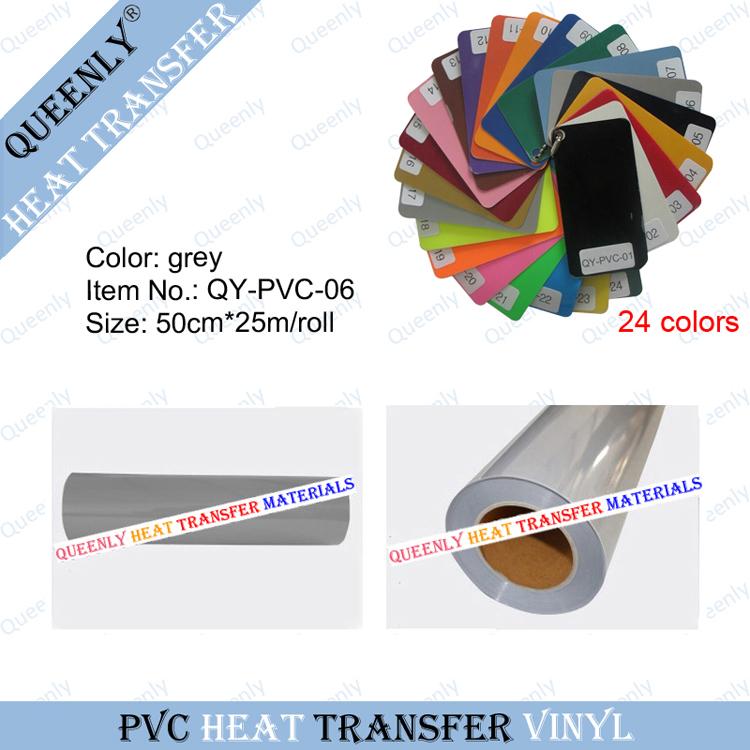 PVC heat transfer PVC Vinyl Film Rolls heat transfer material 50cm*25m/roll(China (Mainland))