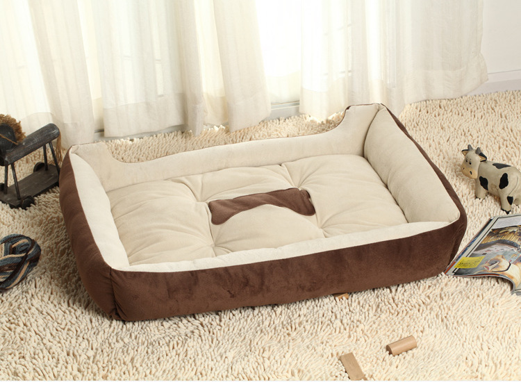 S M L XL Plus Size Pet Dog Bed Warming Dog House Soft Material Dog Cat Kennel Warm Winter for Dog Cat Pet Products DH02(China (Mainland))