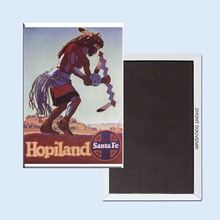 Buy Hopiland Santa Fe Railroad Vintage Poster 24072 Retro nostalgia fridge magnets for $3.48 in AliExpress store