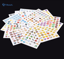 2016 Most Popular New Emoji Stickers Pack Car Styling Car Covers Iphone Ipad Android Phone Facebook Twitter Instagram stickers(China (Mainland))