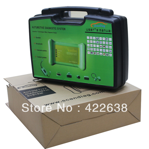 100% original Scandiag car diagnostic tool with bluetooth update online Promotion price